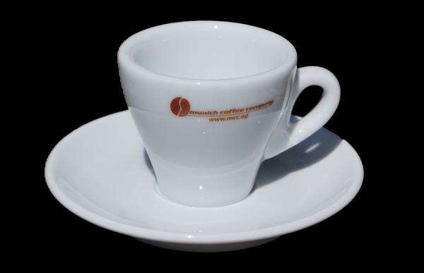 Espressotasse TORINO mit MCC-Logo - 70cc