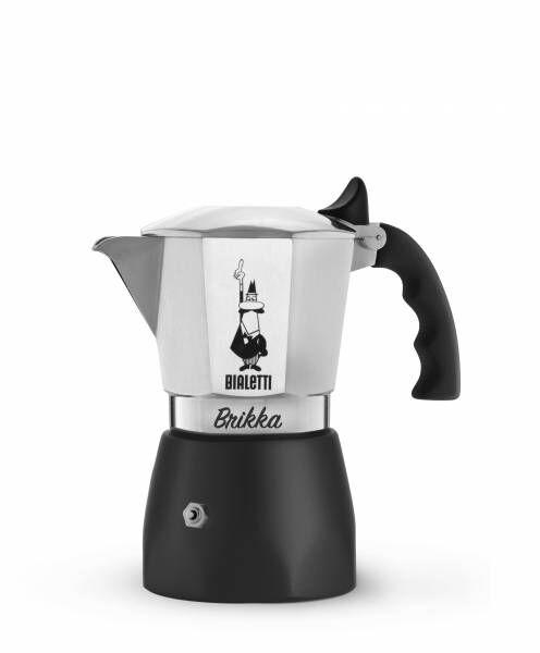 Bialetti Espressokocher Brikka Elite mit Cremaventil für 4 Tassen - B-Ware