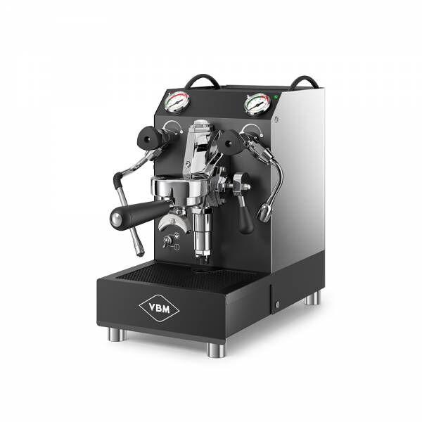 VBM Domobar Junior schwarz matt & soft touch (Doppio Boiler) - NEU unbenutztes Ausstellungsgerät