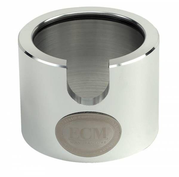 ECM Tamperstation Aluminium poliert Höhe/Durchmesser 7/9cm