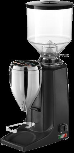 Espresso-Mühle Quamar M80 - Grind on Demand schwarz matt