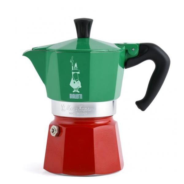 Bialetti La Mokina Italia Aluminium-Espressokocher für 40 ml