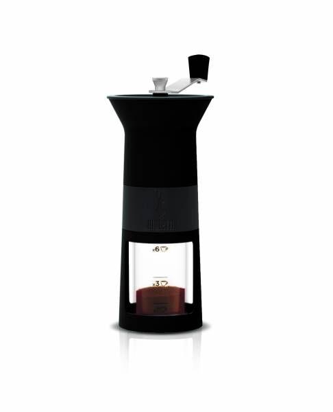 Bialetti Kaffeemühle Macinacaffè Schwarz