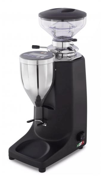 Espresso-Mühle Quamar Q13 E- Grind on Demand schwarz matt mit 250g Hopper