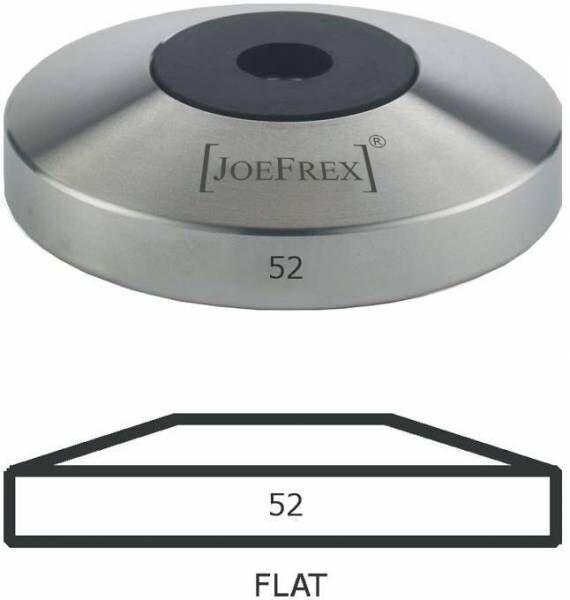 Tamper-Basis (Unterteil) Edelstahl Flat Ø52mm