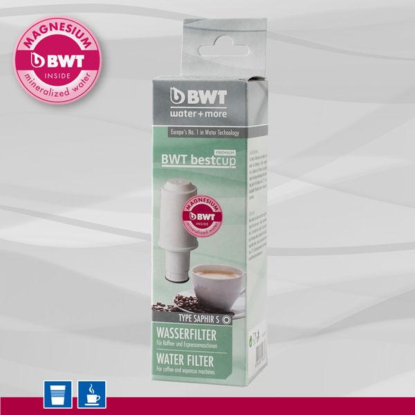 BWT Bestcup PREMIUM S Saphir Wasserfilter von water and more für Aulika und andere Geräte