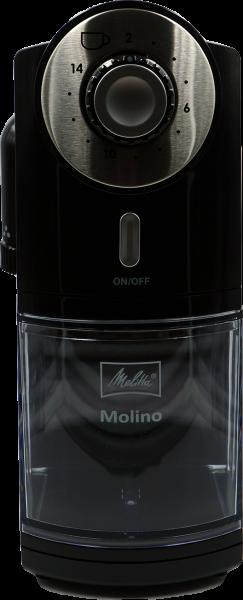 Melitta Molino® Kaffeemühle schwarz