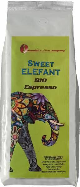 MCC Espresso - BIO Sweet Elefant - Bohnen 1kg - 20er Pack