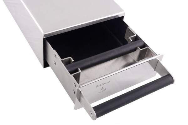 MCC Sudschublade Slim Edelstahl - massiv und sehr hochwertig - BxTxH: 21x30x8,5cm