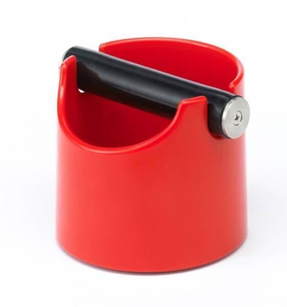 Abschlagbehälter Basic rot - Maße: Ø 10 x H 12 cm