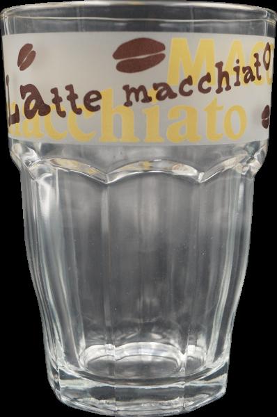 Glas Rocky für Latte Macchiato 370cl