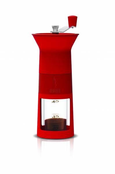 Bialetti Kaffeemühle Macinacaffè Rot