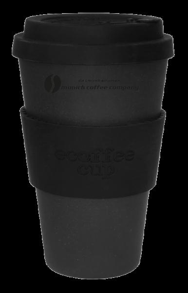Bambus Coffee to go Becher mit Deckel MCC - 400ml