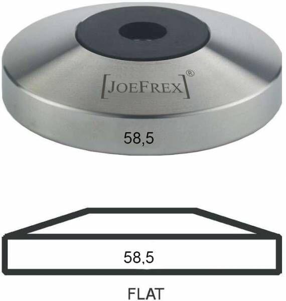 Tamper-Basis (Unterteil) Edelstahl Flat Ø58,5mm