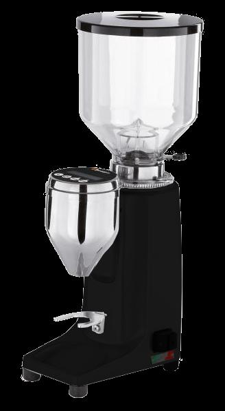 Espresso-Mühle Quamar Q50 - Grind on Demand schwarz matt