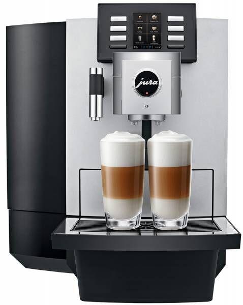 JURA X8 INKLUSIVE KAFFEE (65 Tassen pro Tag) und GARANTIE. 36 Raten à