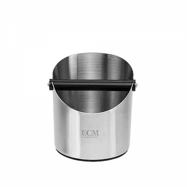ECM Kaffee-Abschlagbox Edelstahl poliert Höhe/Durchmesser 16/14cm