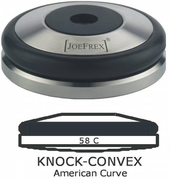 Tamper-Basis (Unterteil) Knock Konvex Edelstahl Ø58mm