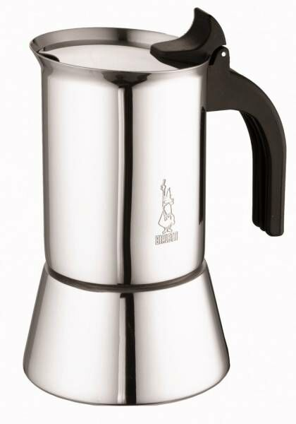 Bialetti Venus 10 Tassen Espressokocher Edelstahl