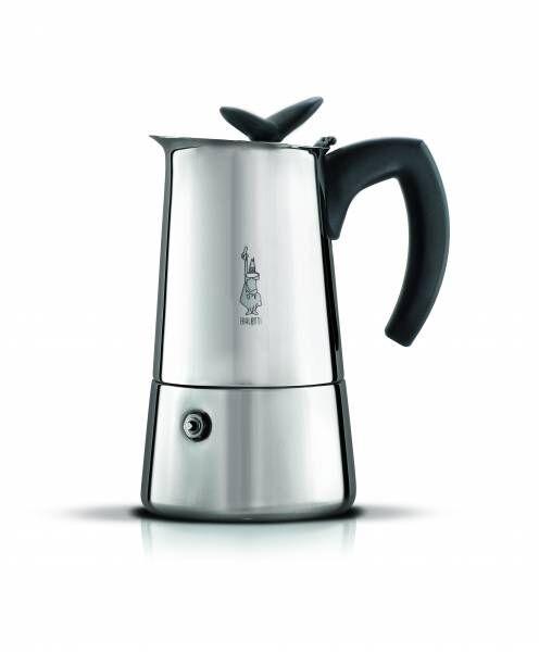 Bialetti Espressokocher Musa Satin 6 Tassen mit leichten Oberflächenkratzern