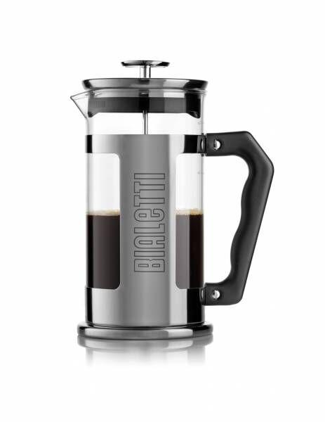 "Bialetti Kolbenfilter Kaffeemaschine ""French Press Signature"" - 0,35 Liter/3 Tassen"