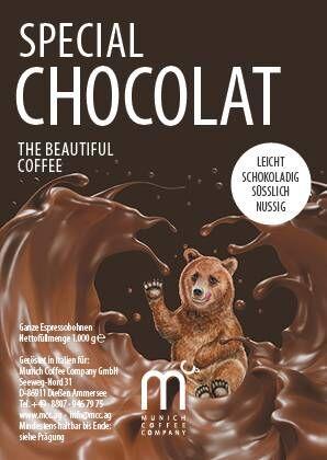 MCC Sonderröstung CHOCOLAT 1kg - 20er Pack