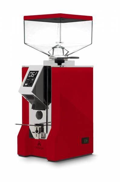 Eureka Mignon Design 16CR - red leather - rotes Lederdesign NEU unbenutzes Ausstellungsgerät