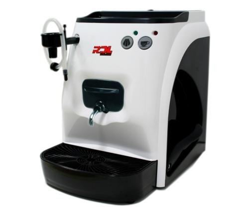 E.S.E. Cialde-Cappuccino-Maschine RDL schwarz mit monatlich 50 Cialde