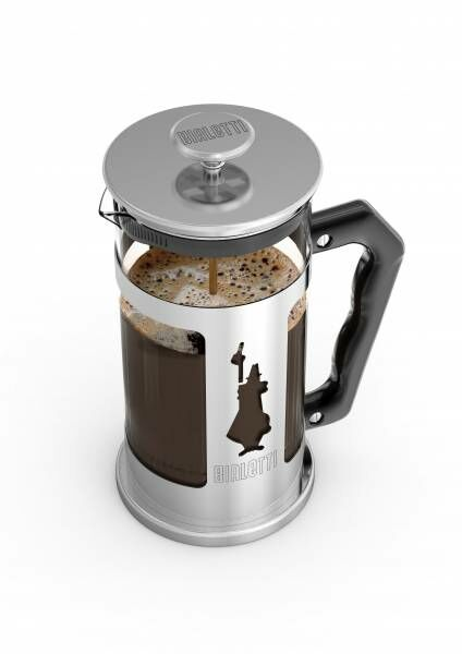 "Bialetti Kolbenfilter Kaffeemaschine ""French Press Preziosa"" - 0,35 Liter/3 Tassen"