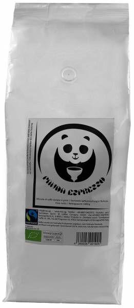 Bio-Fairtrade PANDA-Espresso 1kg - 10er Pack