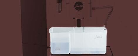 JURA X8 Behälter Reinigung