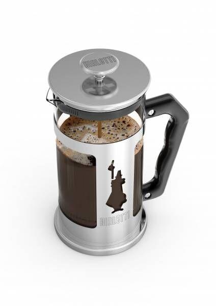 "Bialetti Kolbenfilter Kaffeemaschine ""French Press Preziosa"" - 1 Liter/8 Tassen"