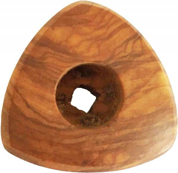 VBM Drehknopf klein für alle DOMOBAR Einkreiser Siebträgermaschinen aus Olivenholz