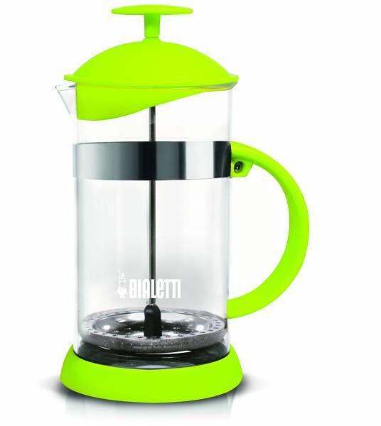 "Bialetti Kolbenfilter Kaffeemaschine ""French Press Joy"" Grün - 1 Liter/8 Tassen"